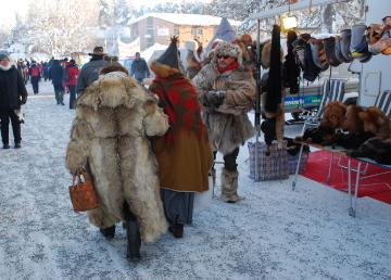 Wintermarkt in Jokkmokk